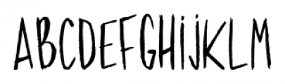 Behance Regular Font LOWERCASE