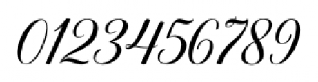 Belastoria Script Regular Font OTHER CHARS