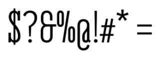 Belleville 07H FY Regular Font OTHER CHARS