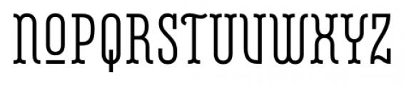 Belleville 07H FY Regular Font UPPERCASE
