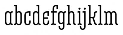 Belleville 07H FY Regular Font LOWERCASE