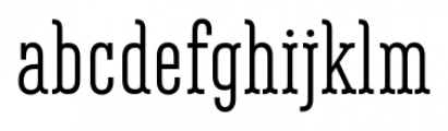 Belleville 13H FY Regular Font LOWERCASE