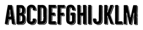 Bellfort Shadow Bold Font UPPERCASE
