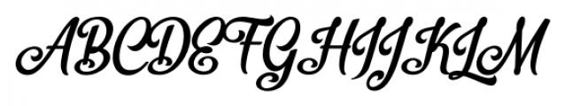 Bellico Regular Font UPPERCASE