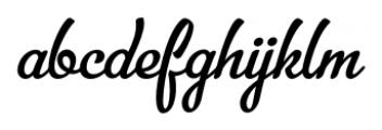 Bellico Regular Font LOWERCASE