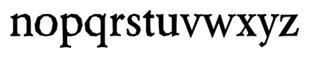 Berylium Bold Font LOWERCASE
