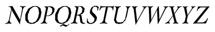 Berylium Italic Font UPPERCASE