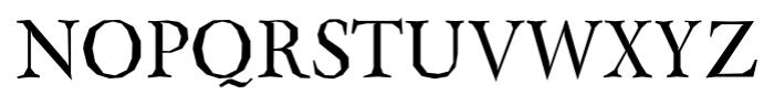 Berylium Regular Font UPPERCASE