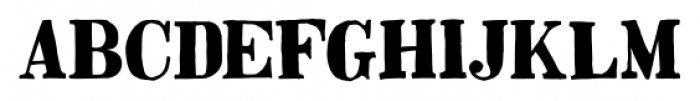 Besley Hand Bold Font UPPERCASE