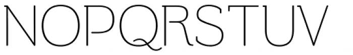 Be Creative Ultralight Font UPPERCASE