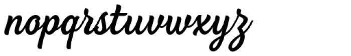 BeachBar Medium Font LOWERCASE