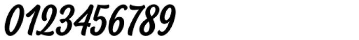 BeachBar Script Medium Font OTHER CHARS