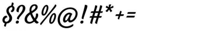 BeachBar Script Regular Font OTHER CHARS