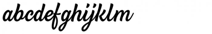 BeachBar Script Regular Font LOWERCASE