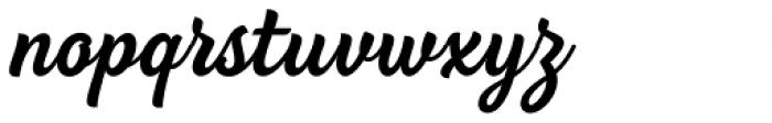 BeachBar Script Semi Bold Font LOWERCASE