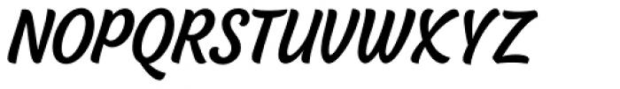 BeachBar Semi Bold Font UPPERCASE