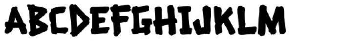Beachcomber Fill Font UPPERCASE