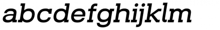 Beaga Bold Oblique Font LOWERCASE