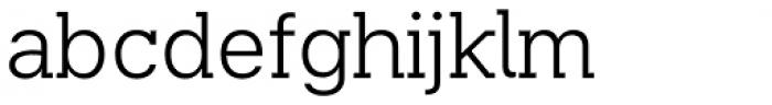 Beaga Light Font LOWERCASE