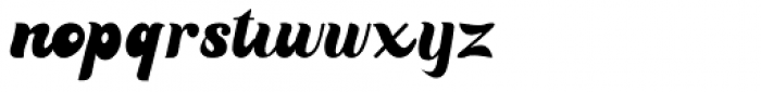Bealiva Vintage Script Font LOWERCASE