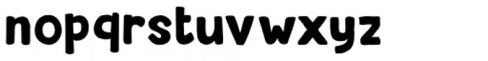Beanstalker Regular Font LOWERCASE