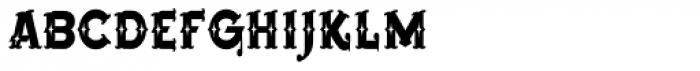 Bearded Lady BB Font LOWERCASE