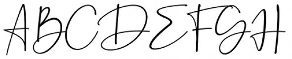 Beatrise Regular Font UPPERCASE