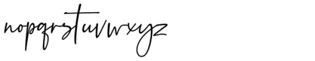Beatrise Regular Font LOWERCASE