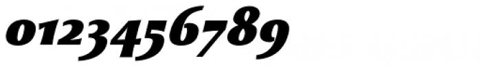 Beatrix Antiqua Black Italic Font OTHER CHARS