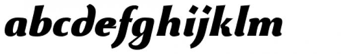 Beatrix Antiqua Black Italic Font LOWERCASE