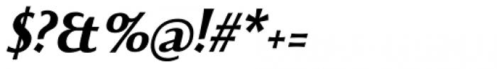 Beatrix Antiqua Bold Italic Font OTHER CHARS