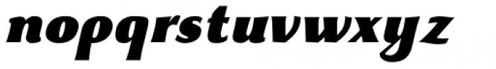Beatrix Antiqua Extra Black Italic Font LOWERCASE