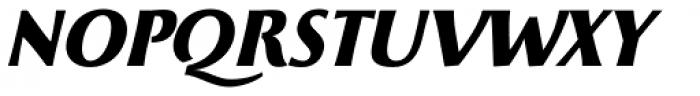 Beatrix Antiqua Extra Bold Italic Font UPPERCASE