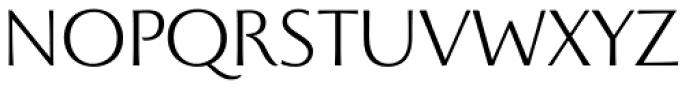 Beatrix Antiqua Light Font UPPERCASE