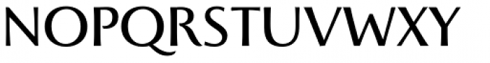 Beatrix Antiqua Regular Font UPPERCASE