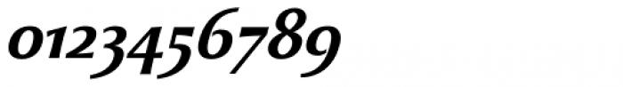Beatrix Antiqua Semi Bold Italic Font OTHER CHARS