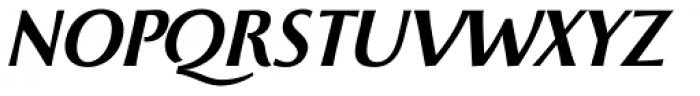 Beatrix Antiqua Semi Bold Italic Font UPPERCASE