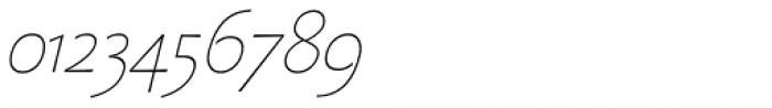 Beatrix Antiqua Thin Italic Font OTHER CHARS