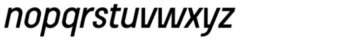 Beauchef Medium Italic Font LOWERCASE