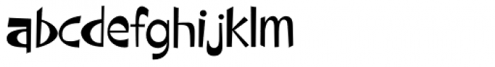 Beaucoup PB Font LOWERCASE