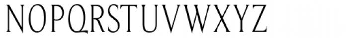 Beaufort Condensed Light Font UPPERCASE