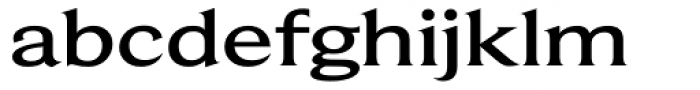 Beaufort Extended Medium Font LOWERCASE