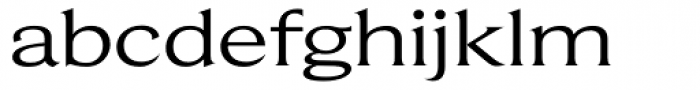 Beaufort Extended Font LOWERCASE