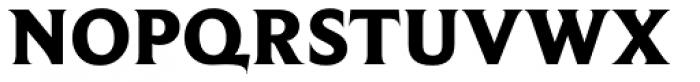 Beaufort Heavy Font UPPERCASE