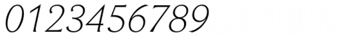 Beaufort Light Italic Font OTHER CHARS
