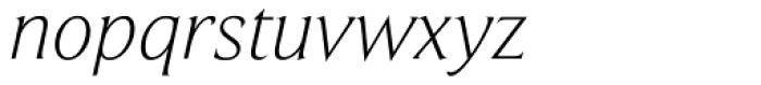 Beaufort Light Italic Font LOWERCASE