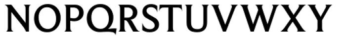 Beaufort Medium Font UPPERCASE