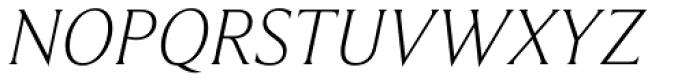 Beaufort Pro Light Italic Font UPPERCASE