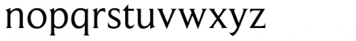Beaufort Font LOWERCASE