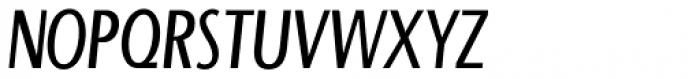 Beaumont Light Italic Font UPPERCASE